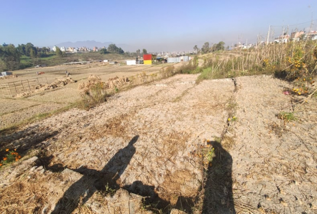 ATTRACTIVE LAND IN THIMI, GAMPCHA, BHAKTAPUR title=