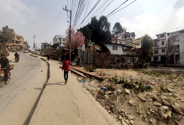 COMMERCIAL LAND IN DHAPASI TO TOKHA ROAD