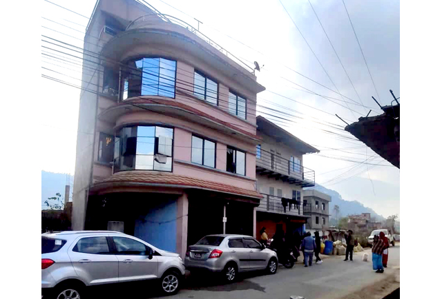 3.5 storied Building @ 1.1crore in Lalitpur
